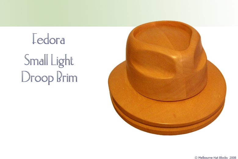 Fedora + Small Light Slouch